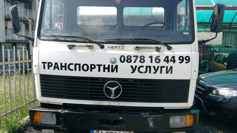 Изработка и монтаж на надписи върху камиони